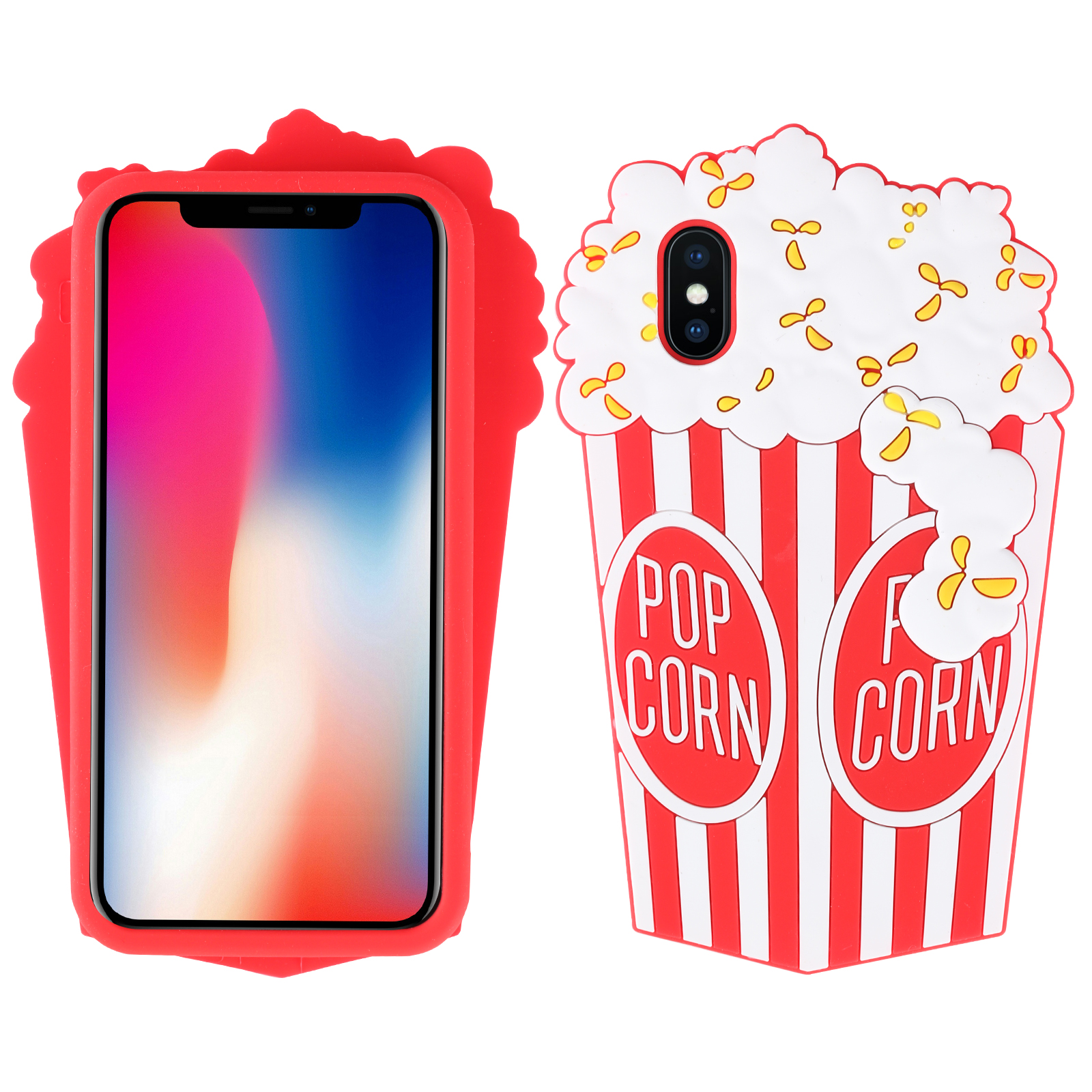 coque iphone 8 pop corn